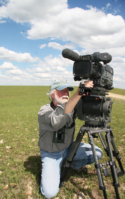 Preparing to Shoot in the Flint Hills